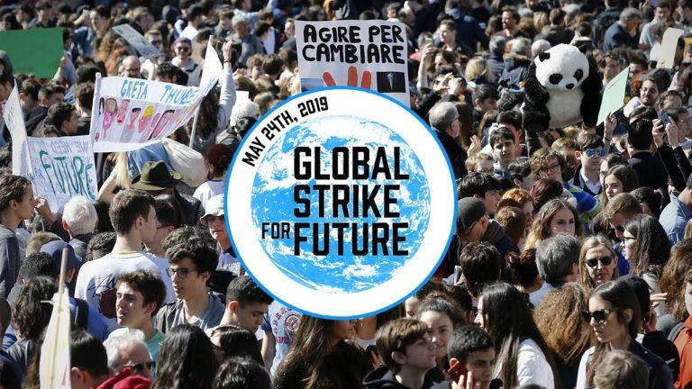 """Clima: secondo appuntamento con il """"Global Strike for Future"""""""
