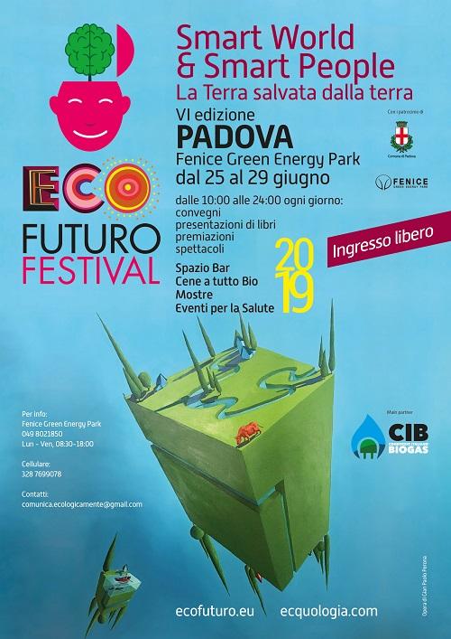 Sostenibilità: in arrivo l'Ecofuturo Festival 2019