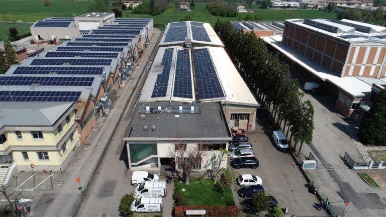 Completata l'installazione del sistema fotovoltaico presso l'Officina Ferrari GBW