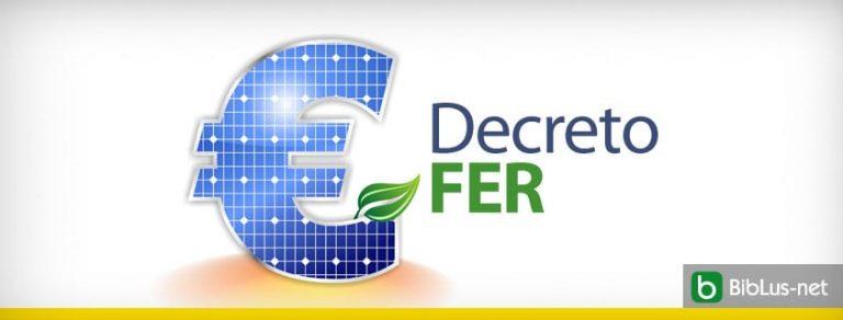 Firmato decreto Fer1, incentivi per più energia rinnovabile