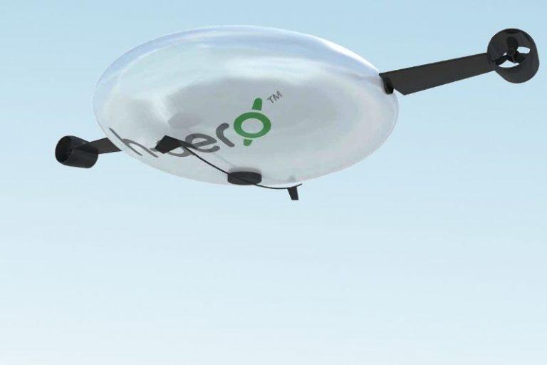 Le celle solari spingono in volo il drone h-aero®