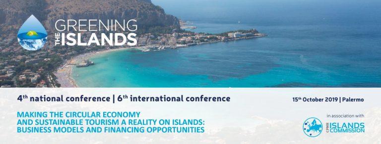 Economia circolare e turismo sostenibile nelle isole: se ne dibatte a Palermo