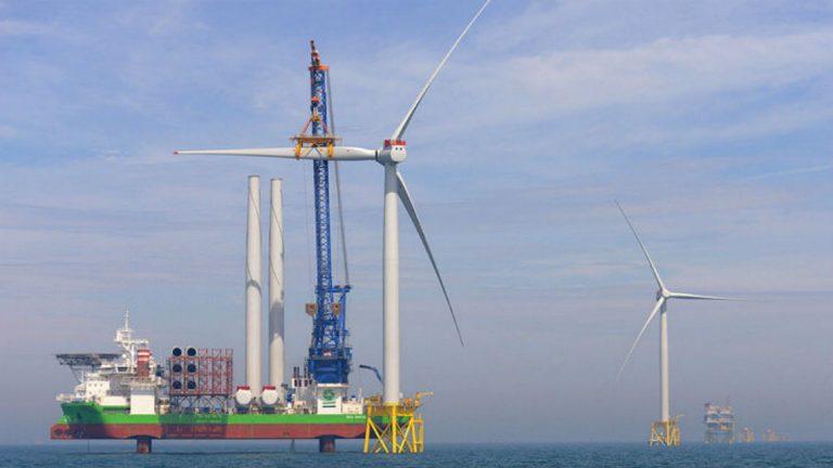 Mare del Nord: nasce il parco eolico offshore più grande al mondo
