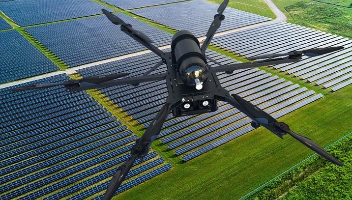 Droni HYCOPTER: controlli di sicurezza delle dighe per centrali idroelettriche in Brasile