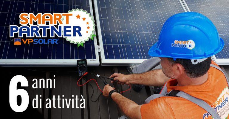 VP Solar festeggia i 6 anni della rete di installatori Smart Partner