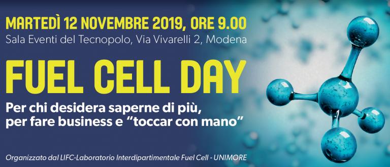 Il Convegno FUEL CELL DAY a Modena il 12 novembre