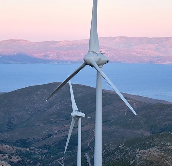 Enel inaugura Kafireas, il più grande impianto eolico greco