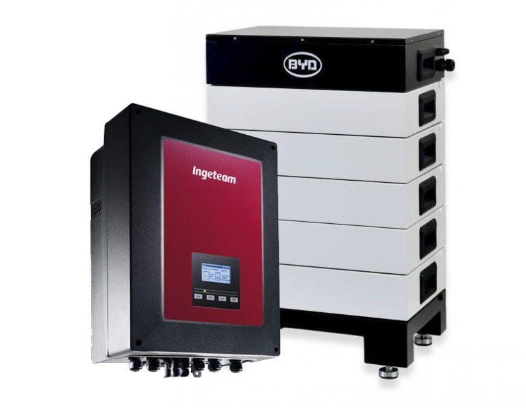 L'inverter ibrido di Ingeteam compatibile con le batterie al litio di Pylontech