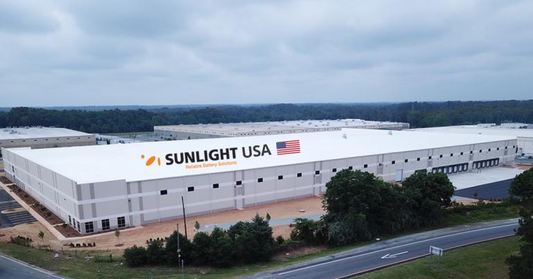 SUNLIGHT entra nel mercato statunitense delle batterie