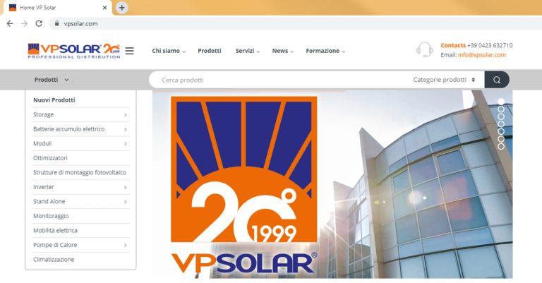 VP Solar cresciuta nel 2019 grazie a strategia di marketing digitale