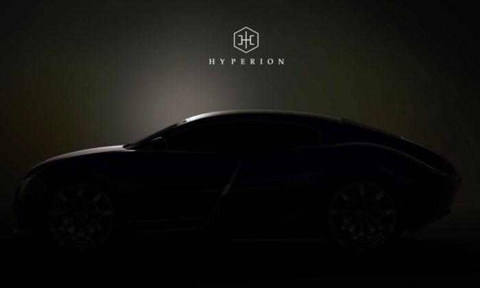 L'auto elettrica di Hyperion corre verso il Salone di New York