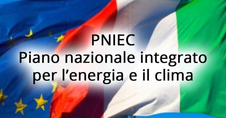 Piano nazionale energia e clima, pubblicato il testo definitivo