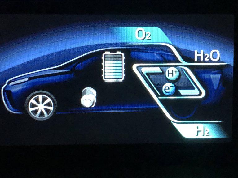 Lexus pensa a veicolo alimentato da celle a combustibile a idrogeno