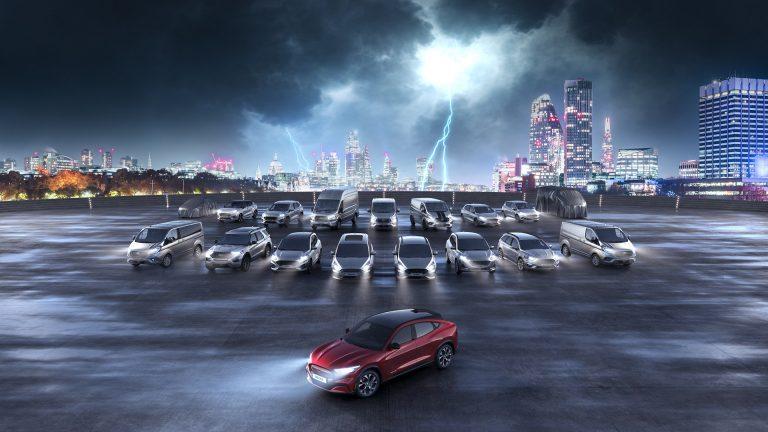 Ford Go Electric: partito da Londra il roadshow dedicato all'elettrificazione