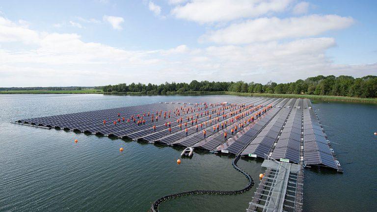 Fotovoltaico galleggiante, sorgerà in Olanda impianto record per l'Europa