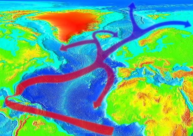 Clima, ricerca indica influenza delle temperature del Nord Atlantico su quelle del Medio Oriente