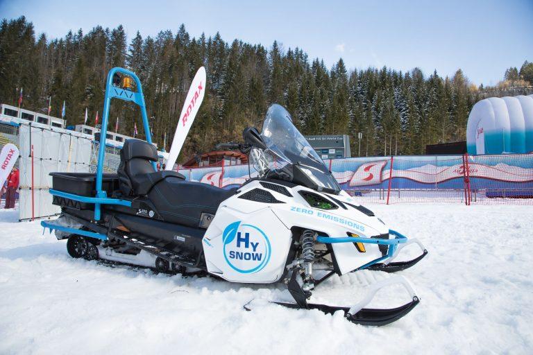 BRP-Rotax, motoslitta a idrogeno a zero emissioni