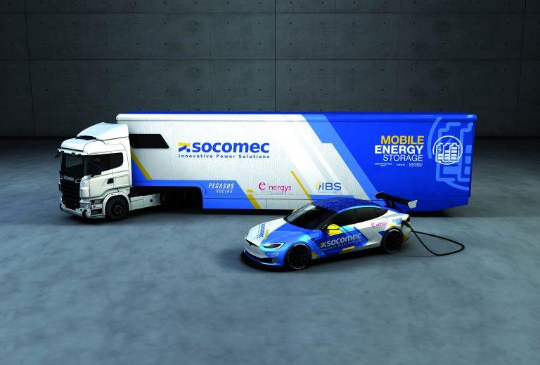 Socomec, innovativa unità mobile di stoccaggio dell'energia