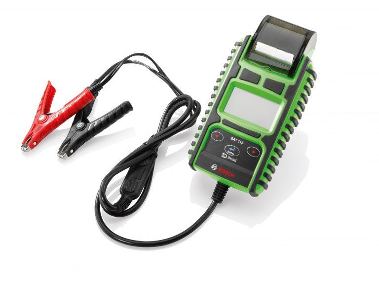 Bosch, nuovo tester con stampante integrata per batterie di avviamento