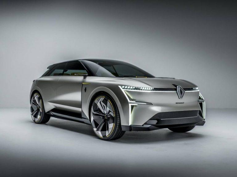 Morphoz, concept elettrica di Renault che si allunga per montare più batterie