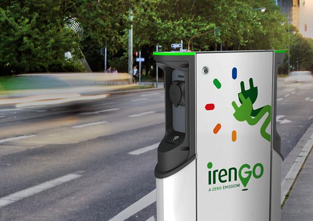 Iren, prima colonnina per ricarica elettrica a Torino