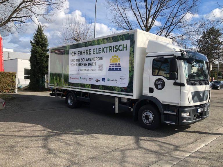 Nuovo progetto integra il FV nei veicoli commerciali elettrici