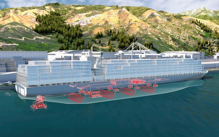 ABB e Hdf, mini centrali elettriche per la nave a idrogeno