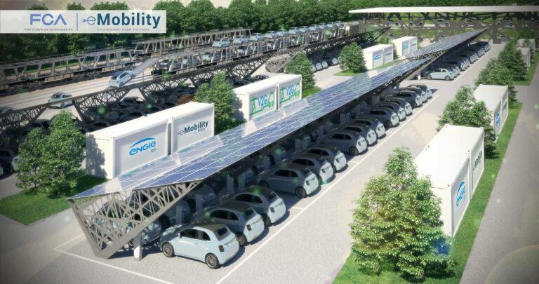Fca e Engie Eps, al via i lavori per il più grande impianto V2G al mondo
