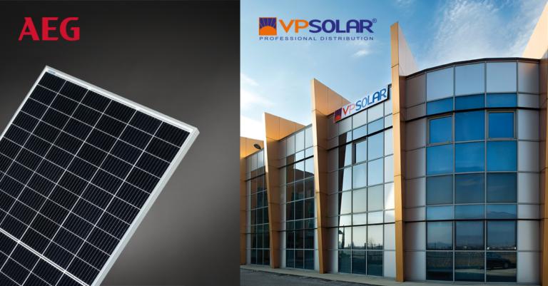 AEG affida a VP Solar la distribuzione in Italia dei prodotti FV