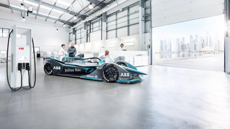 ABB, tecnologia di ricarica per le vetture Gen3 del campionato mondiale di Formula E