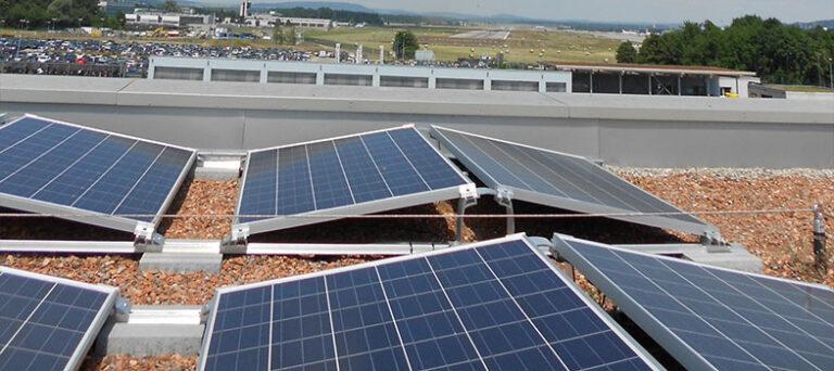 K2 Systems, nuovo sistema di montaggio per Fv su tetti piani