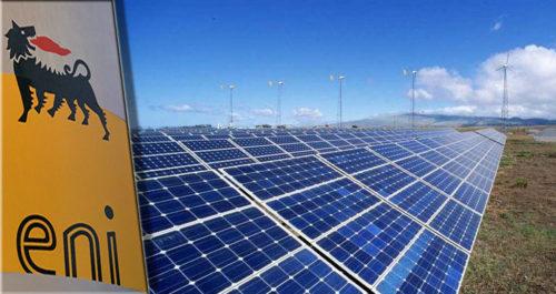 Eni, entra in funzione parco fotovoltaico in Piemonte