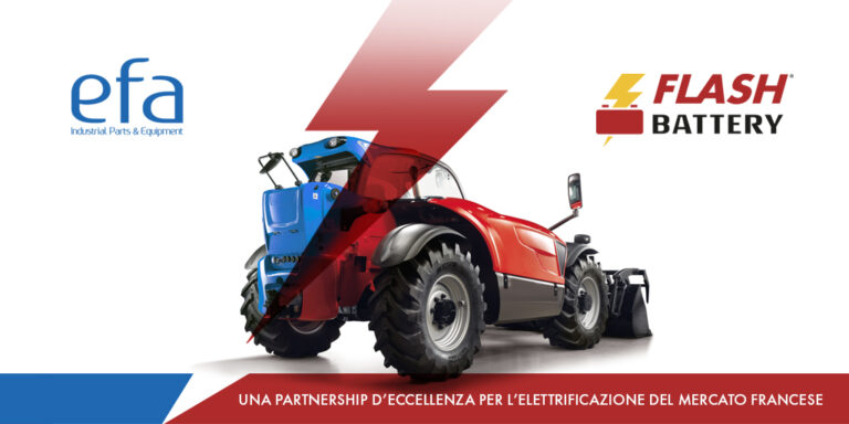 Elettrificazione: partnership strategica tra Flash Battery e Efa France