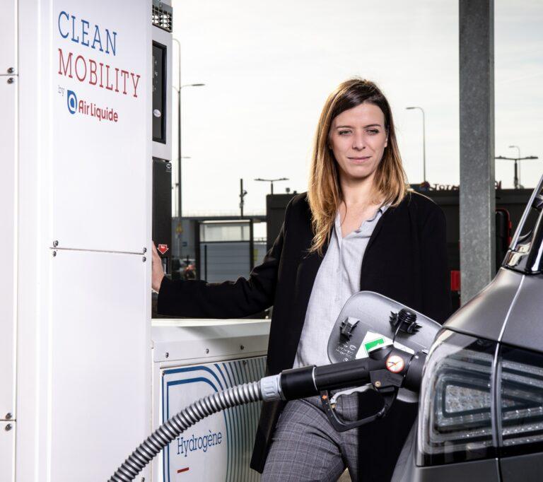 Air Liquide, emissioni di CO2 ridotte con la stazione di idrogeno per camion a lunga percorrenza
