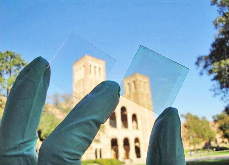 Celle solari trasparenti, nuovo record di efficienza