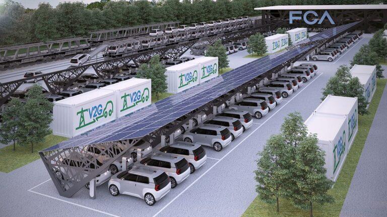 FCA, Engie Eps e Terna, nuovo impianto V2G a Mirafiori