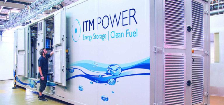 Snam, accordo da 33 milioni con Itm Power per l'idrogeno verde