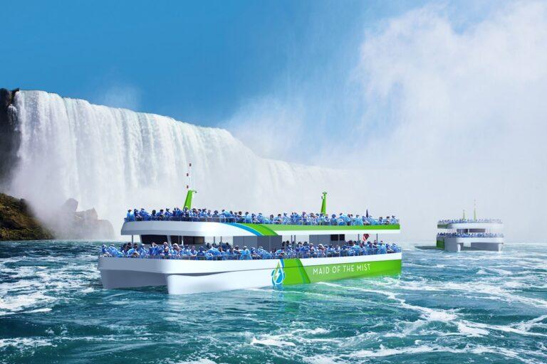 Cascate del Niagara, nuovi traghetti elettrici alimentati da ABB
