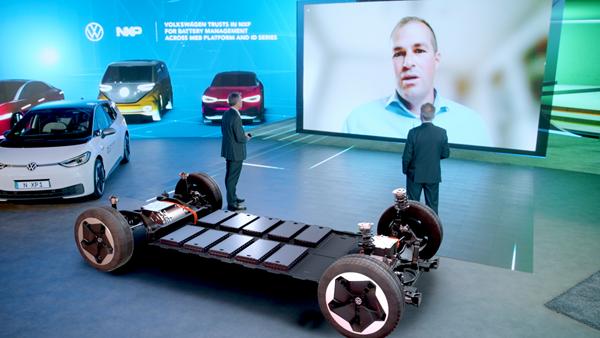 Volkswagen, la piattaforma EV adotta il Battery Management System di NXP