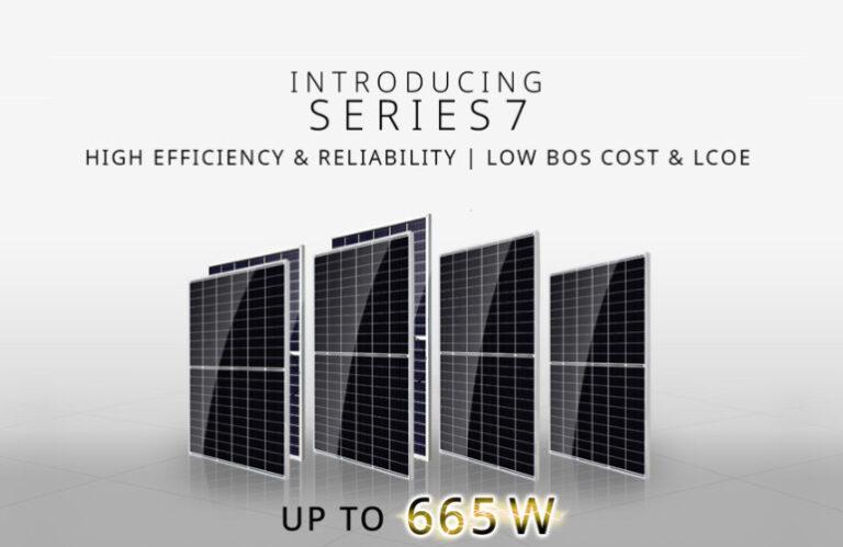 Canadian Solar, nuovi moduli FV con potenza fino a 665 W