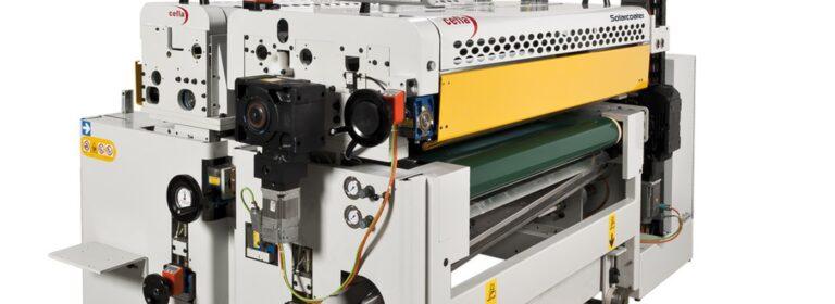 Solarcoater di Cefla Finishing per i trattamenti protettivi nanometrici dei moduli FV