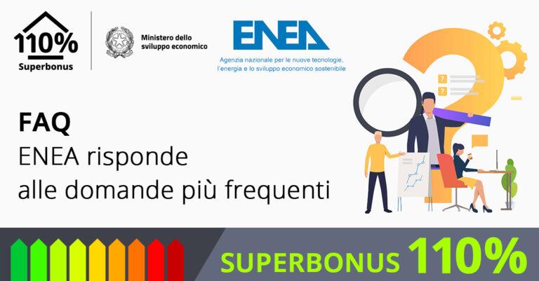 Superbonus 110%, le tre macro-aree del portale omnicomprensivo di ENEA
