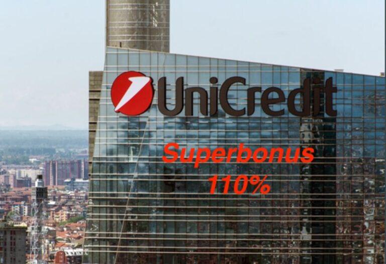 Superbonus 110%, Unicredit semplifica l'iter della richiesta