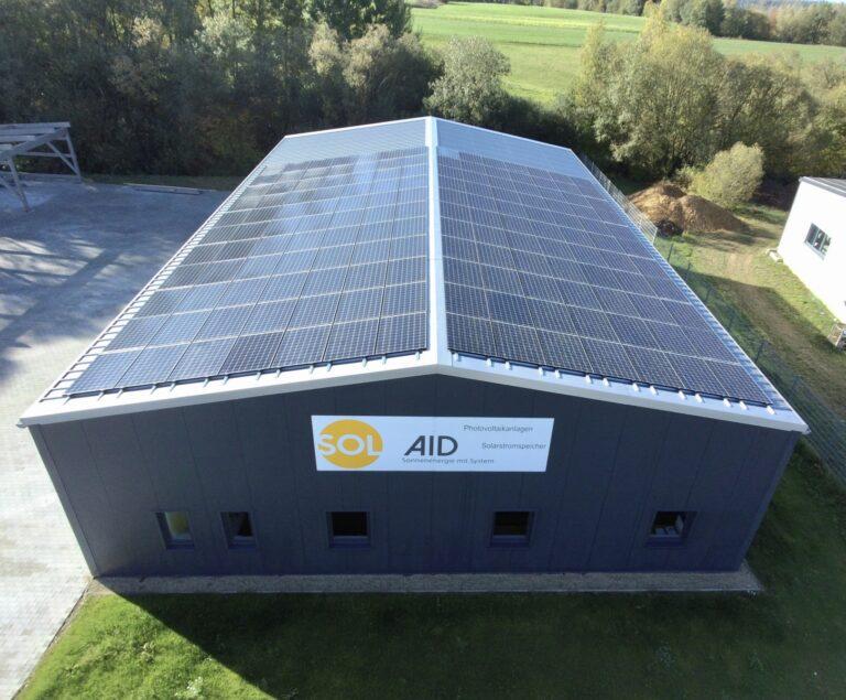 Moduli Panasonic per impianto fotovoltaico abbinato al riscaldamento a infrarossi