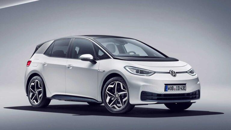 Volkswagen ID.3 sul podio delle auto elettriche per il mese di ottobre