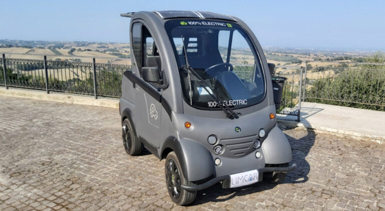 ElettraCity, mini car a ricarica solare Made in Italy