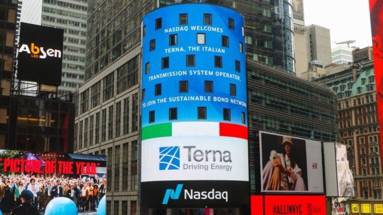 Terna aderisce al network dedicato alla finanza sostenibile