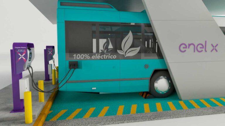 Enel X, contratto per la fornitura di 401 autobus elettrici in Colombia
