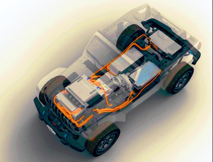 Jeep conferma una versione 100% elettrica del fuoristrada Wrangler