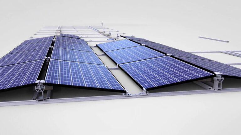 Q Cells, nuovo sistema di montaggio FV per tetti piani